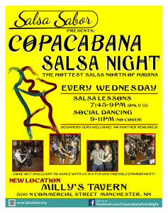 Copacabana Salsa Night information NH
