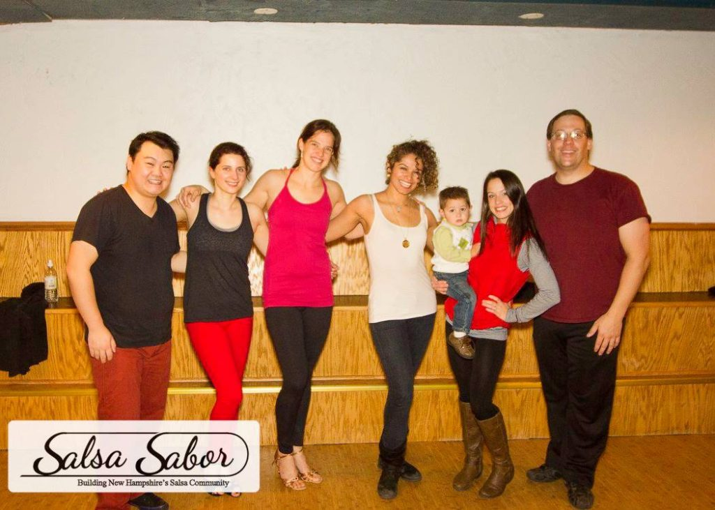 Salsa Sabor members training with Ana Masacote