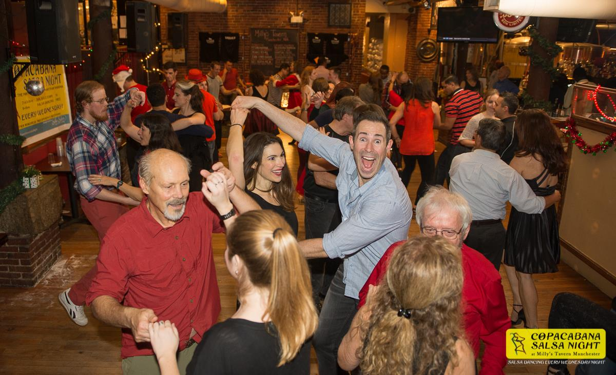 One last dance of the year for 2015 at Copacabana Salsa ...
