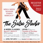 Salsa Lessons Manchester New Hampshire