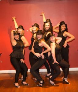 Salsa ladies team