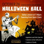Halloween Ball at Salsa Manchester New Hampshire