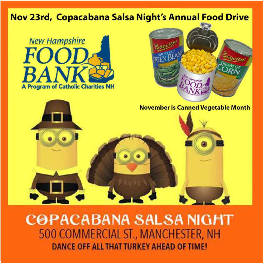 Salsa Canned Goods food donations